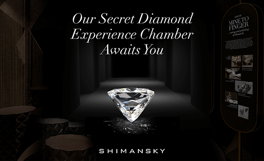 The secret diamond chamber, Shimansky diamonds
